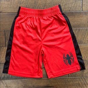 Marvel Spider-Man Boy's Shorts Size Small (6/7)